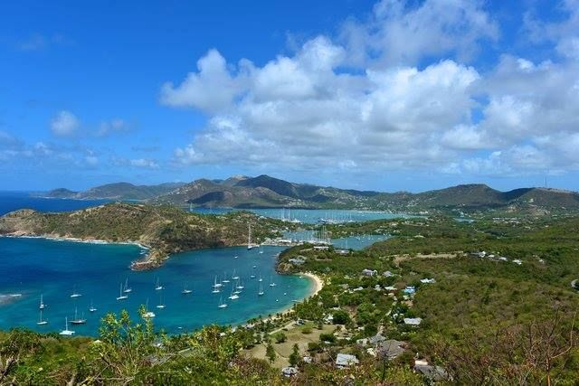 Antigua and Barbuda is an island nation with the largest supply of fresh water in the Caribbean, between the Virgin Islands and Guadeloupe. There is an Amerindian historical site at Mill Reef on Antigua where Amerindians came to from South America about 4500 years ago.
