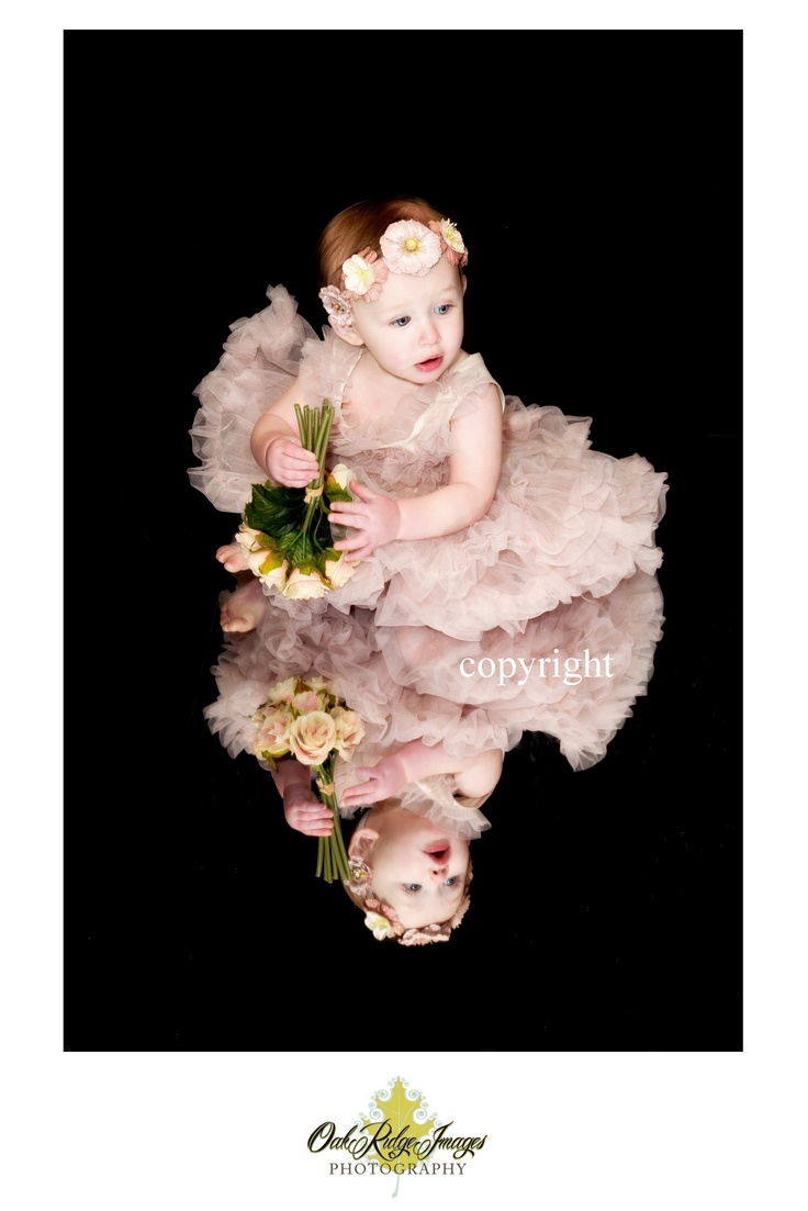 mirror reflections photography, infant, tutu, baby girl ideas
