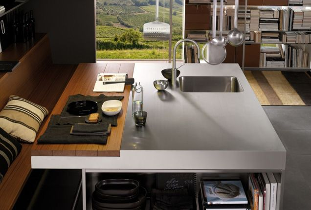 Sink Trends in 2014  Prep Sinks  Stainless Steel Island Prep Sink