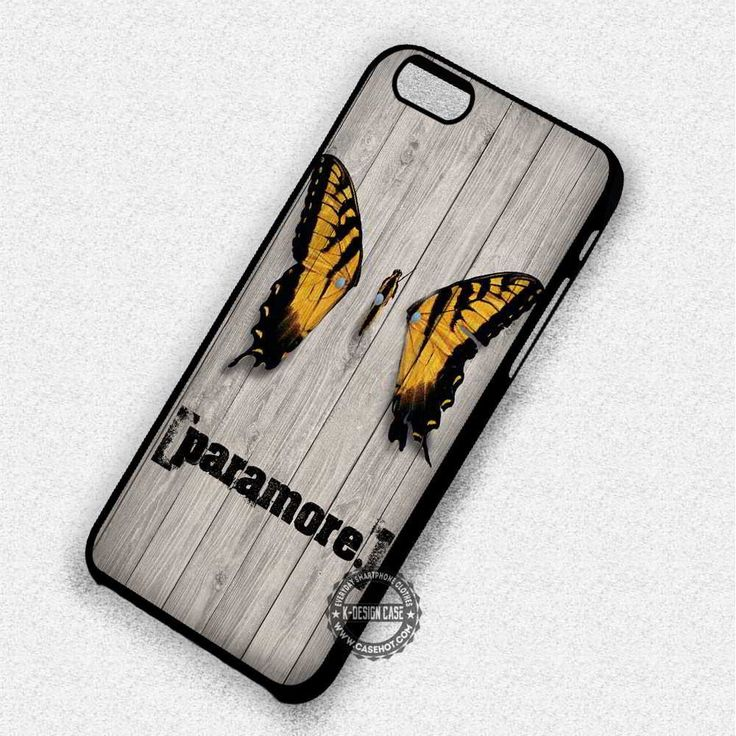 Butterfly Paramore - iPhone 7 6 Plus 5c 5s SE Cases & Covers