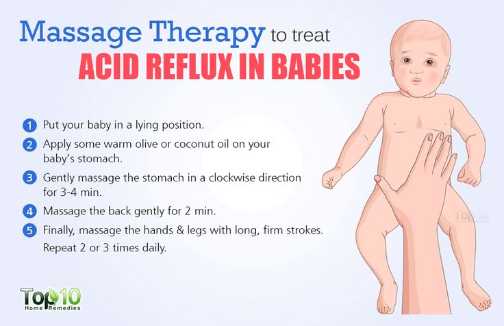massage therapy for babies