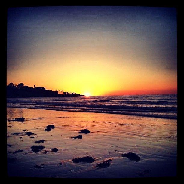 Sunset in La Jolla Shores