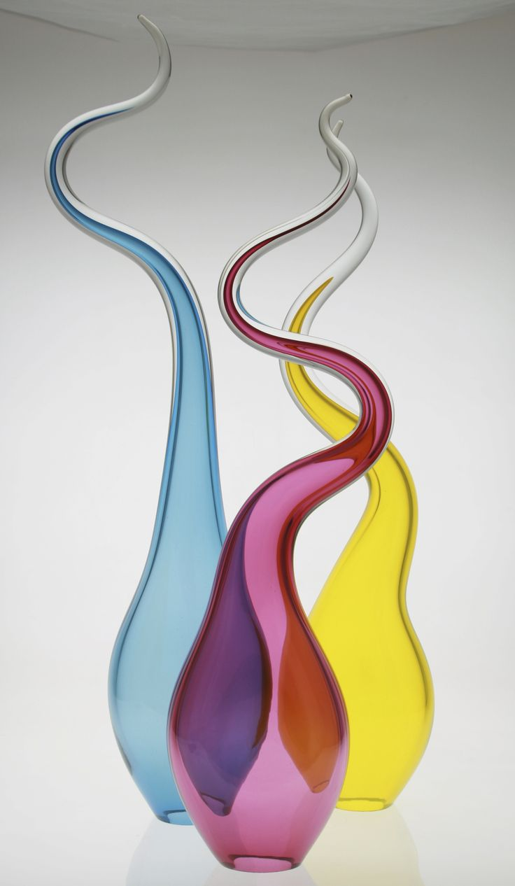 Liquid lights by Red Hot Glass, contemporary glassblowing studio