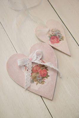 kriszkrea: Fa szív dekoráció