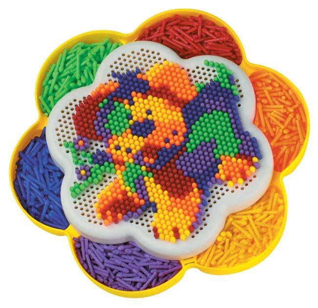#Quercetti #toys Chiodini | Fantacolor Daisy fiore