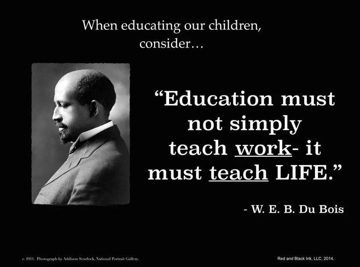 W.E.B Du Bois: