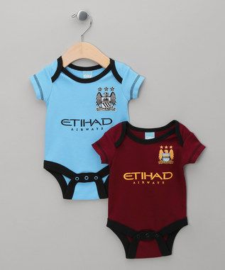 Two-Pack Manchester City FC Bodysuits - Infant & Toddler
