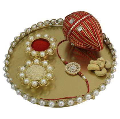 Rakhi Thalis for Raksha Bandhan