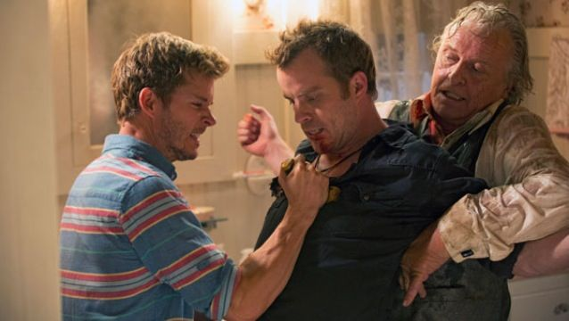 Jason & Grandpa vs. Warlow   True Blood