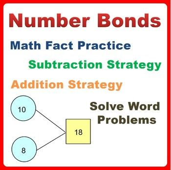 Learn addition, subtraction strategies and solve story word problems using number bonds concept. Practice number bonds, apply part-part-whole relationship of numbers in problem solving and improve mental calculation.A no prep resource for teachers, homeschooling families, and parents looking to help kids lay strong math fact foundation, improve kid's mental arithmetic calculation, learn to solve addition and subtraction story word problems.This bundle pack of printable worksheets...
