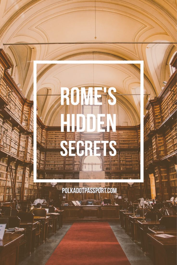 Visiting Rome? Here is a list of cool things to do and local places to eat!