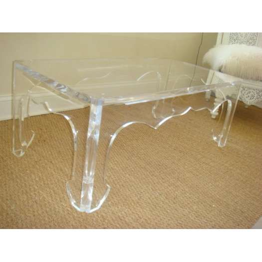 Lucite Coffee Table For The Home Pinterest