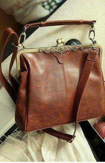 Vintage bag brown