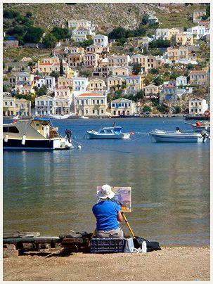 Symi, a beautiful little island