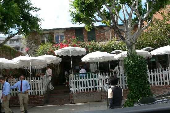 """The Ivy on Robertson, Los Angeles, CA  Sit outside on the  terrace if you can and watch the """"scene"""" always good"""