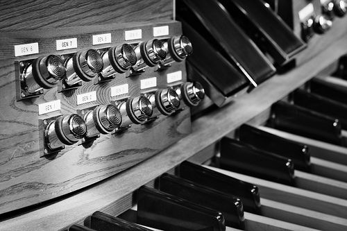 Organ detail -- Machine Closeup #1 by Marc Henderson on Flickr