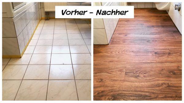Fliesenboden Renovieren Schnell Staubfrei Trebes Raumausstattung Und Inneneinrichtung Fliesenboden Alte Fliesen Vinylboden