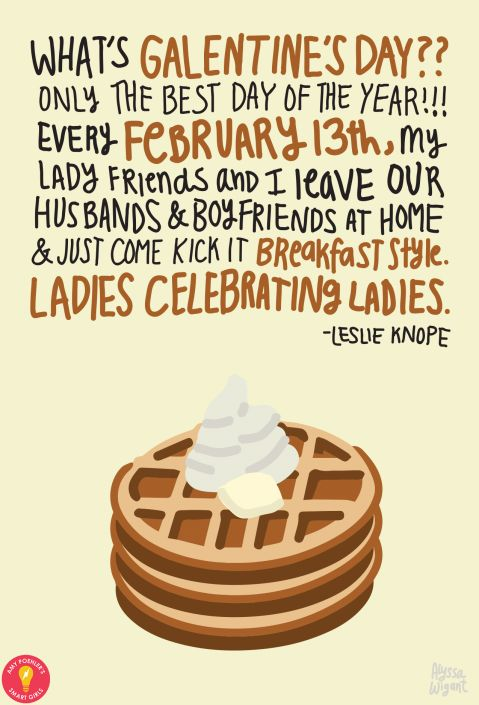 Start a Galentine's Day Tradition with my daughter and leave the smelly boys at home.  ;)