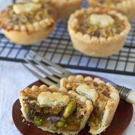 Mini Honey Pistachio Pies—Happy Pi(e) Day!