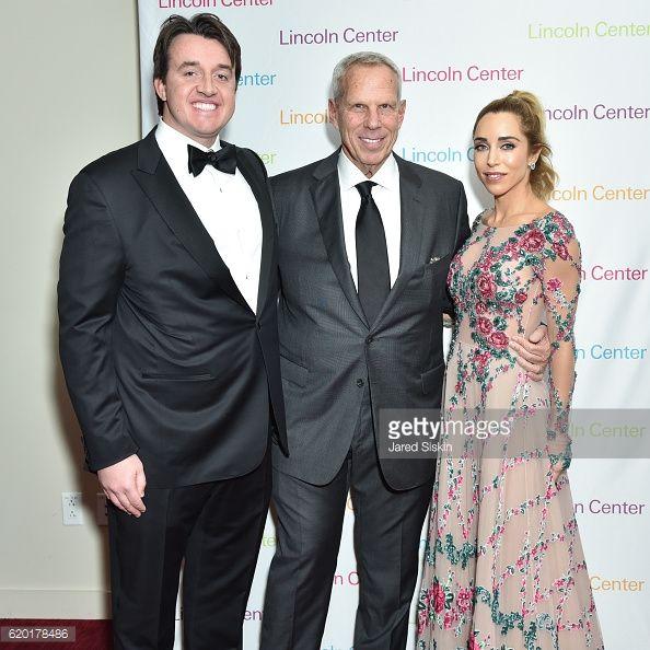 News Photo : William Wilson Blodgett, Steve Tisch and Katia...