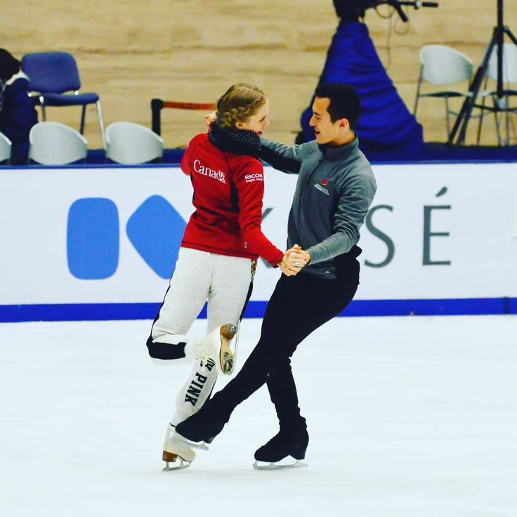 Kaitlyn Weaver(Canada) and Patrick Chan(Canada)