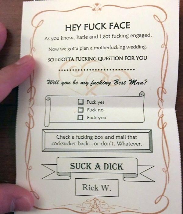 The Only Way To Ask Someone To Be Your Best Man