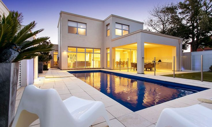 North Brighton. Modern home. Beach. Esplanade. Home Theatre. Outdoor kitchen. Swimming pool. Living. Luxury. InDaily.