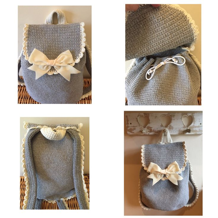 crochet backpack free pattern from LoveCrochet ~ k8~