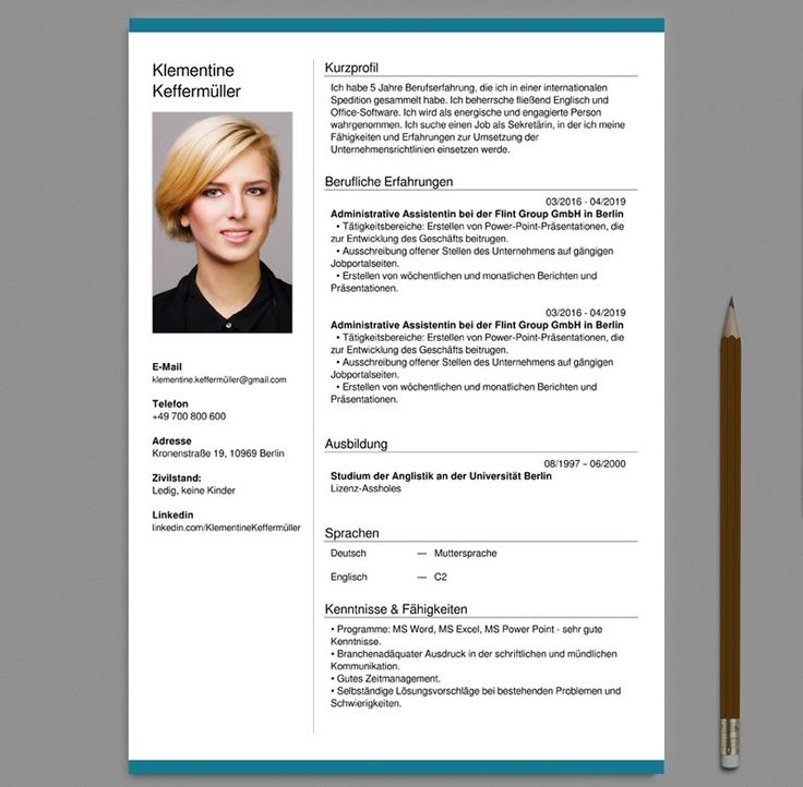 Awesome Free Online Cv Template Pictures german cv and