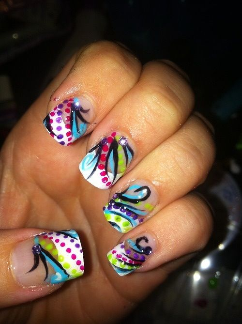 Nail Art Funky Nails Fabulous Nails My Nails