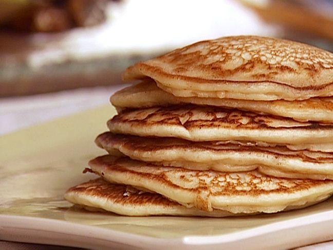 Sourdough Pancakes Recipe : Alex Guarnaschelli : Food Network