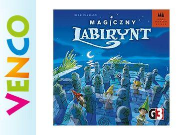 Gra MAGICZNY LABIRYNT na pamięć - TIME'S UP gratis