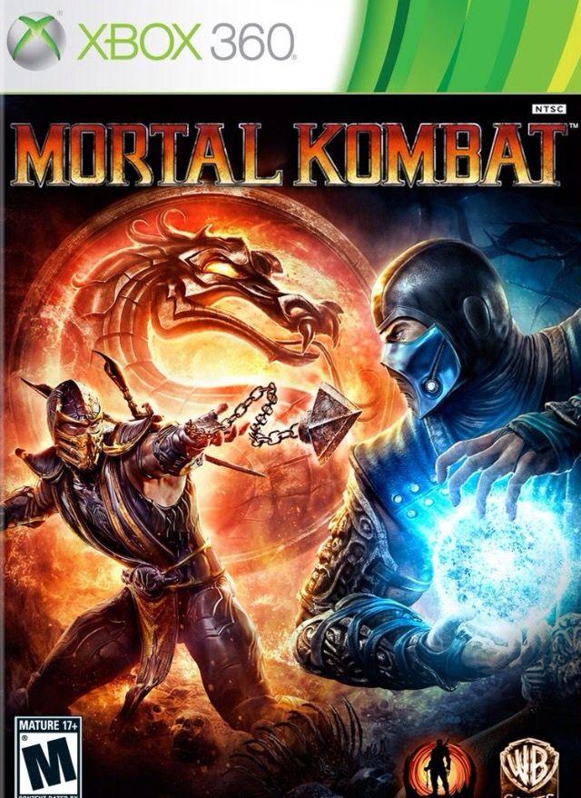 Xbox 360 game, Mortal Kombat, $20