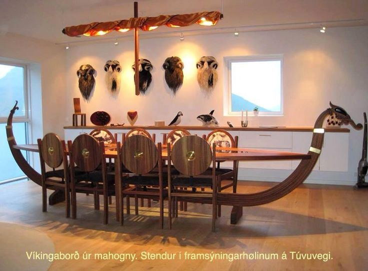 Vikings Crafts And Tables On Pinterest