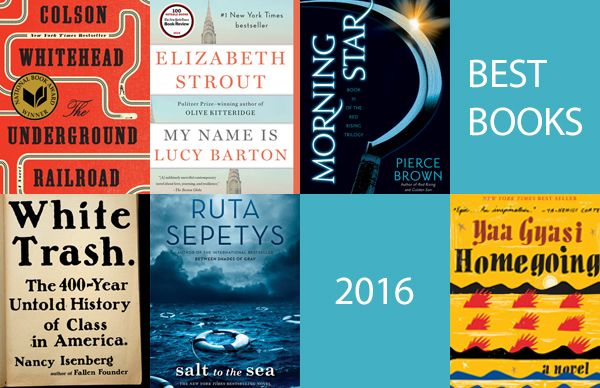 A compilation of some of the best books of 2016 featuring authors from the Penguin Random House Speakers Bureau.