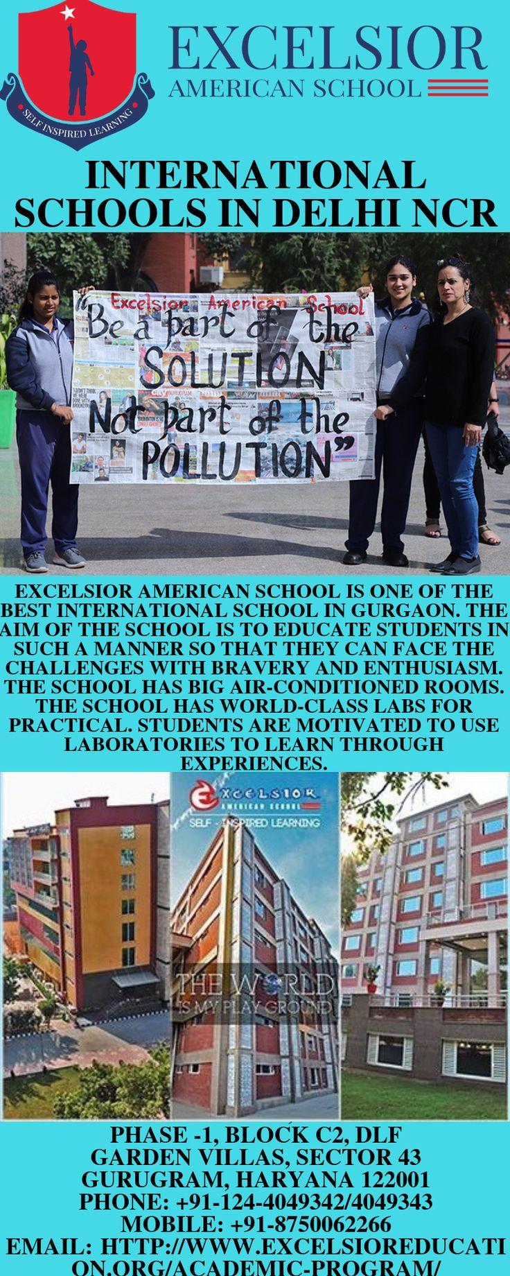 Ecoles internationales à Delhi ncr