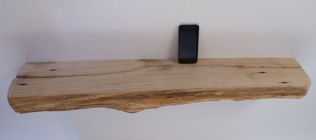 Wandboard wandregal naturholz eiche deko pinterest produkte - Wandregal bad holz ...