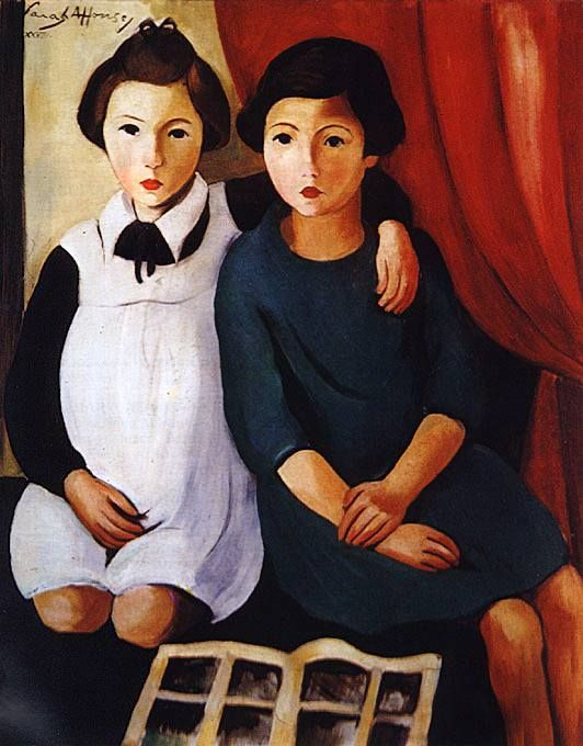 ▫Duets▫ sisters, twins & groups of two in art and photos - Sarah Afonso…