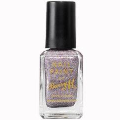 Barry M Glitter Nail Paints Silver Multi Glitter