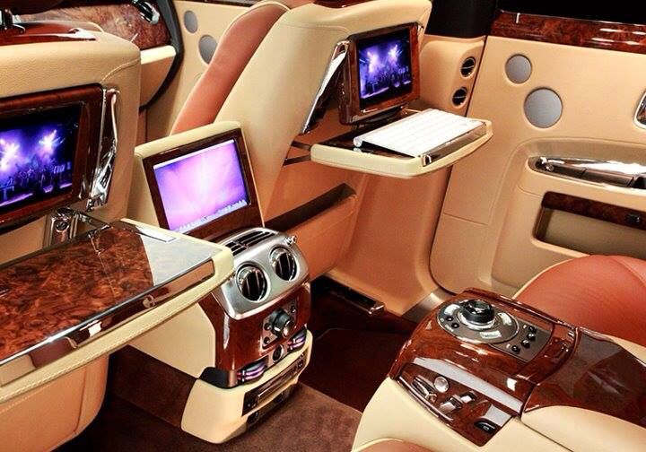 Rolls Royce business cockpit