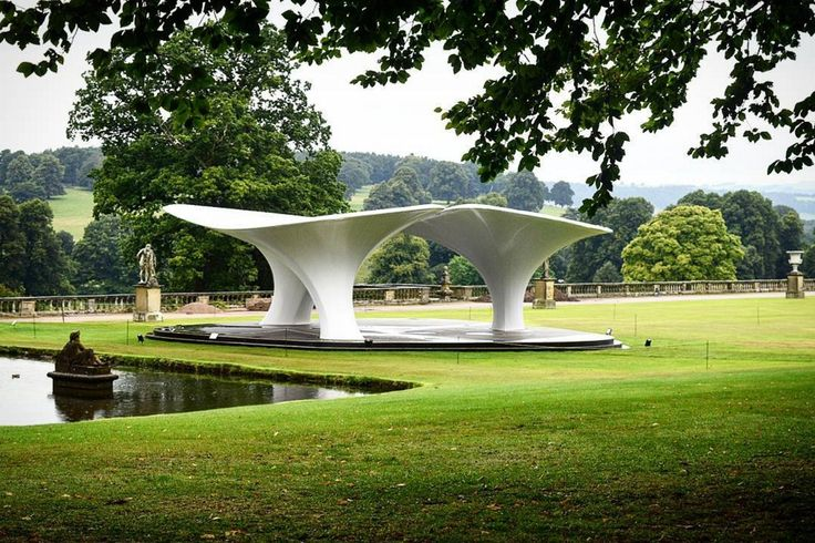 Gallery of Zaha Hadid's 2007 Serpentine Pavilion Re-Erected at Chatsworth House…