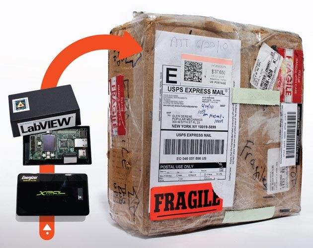 We mailed a bunch of sensors on an epic journey to find out which shipping company is the most careful with your packages. Here's what we found.