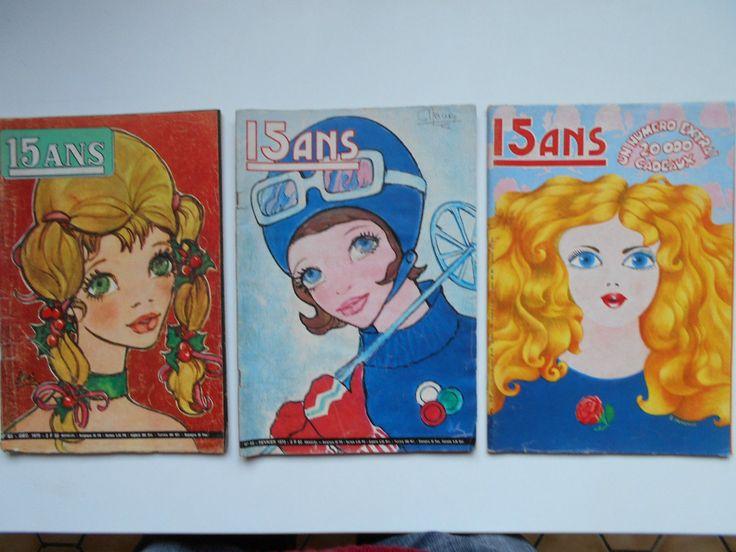 lot de 3 magazines 15 ANS année 70 73 100 pages chacun voir photo | Livres, BD, revues, Revues, Enfants et jeunes adultes | eBay!
