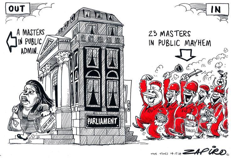 Zapiro: Mazibuko and the EFF - Mail & Guardian