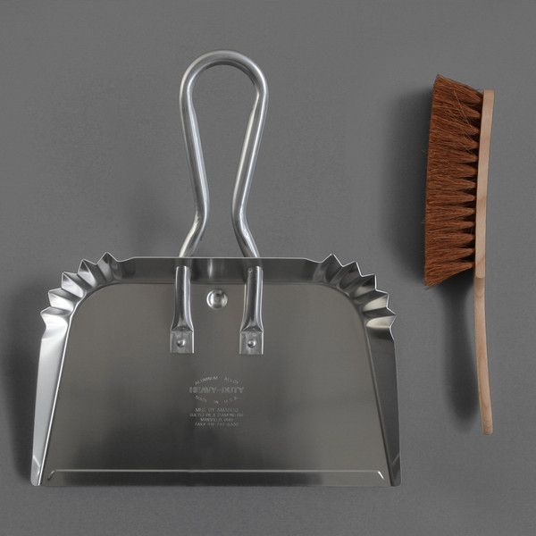 Giant Dustpan and Brush