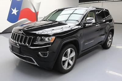 2014 Jeep Grand Cherokee Limited Sport Utility 4-Door 2014 JEEP GRAND CHEROKEE LTD LEATHER NAV REAR CAM 23K #507082 Texas Direct Auto