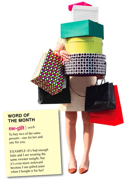 Our word of the month: Me-gift