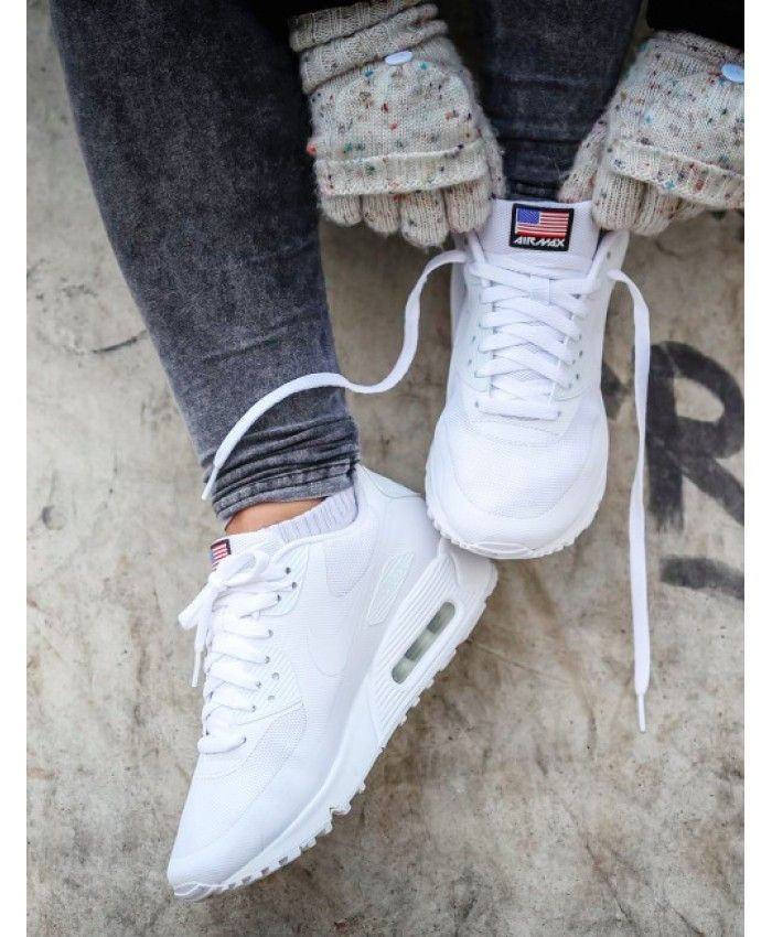 ... Chaussure Nike Air Max 90 Independence Day Originals Blanche