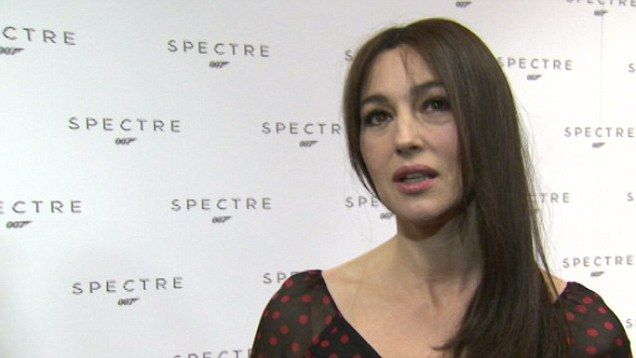 """Video Clip ~ She refers to herself as 'the James Bond Woman ~ not the Bond Girl"""" Monica Bellucci opens up about her role in new Bond movie - Spectre."""
