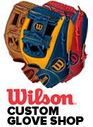 Wilson Custom Baseball Glove Shop, Custom A2000 Baseball and Fastpitch Softball Gloves....might get a new glove soon!